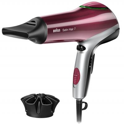Фен Braun HD 750 Satin Hair красный
