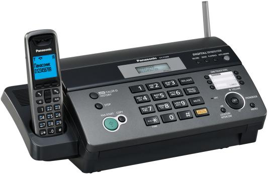 Факс Panasonic KX-FC968RU-T факс panasonic kx fc278ru t на основе термопереноса темно серый металлик