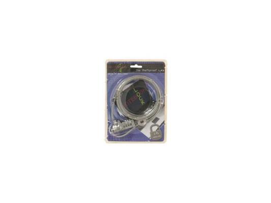 все цены на Трос безопасности для защиты ноутбуков с кодовым замком Cable Lock NCL-102