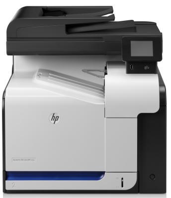 МФУ HP LaserJet Pro 500 color M570dn <CZ271A> принтер/сканер/копир/факс, A4, 30/30 стр/мин, ADF, дуплекс, двухстор. сканер, 256Мб, USB, LAN мфу с снпч для домашнего пользования дешевый и надежный