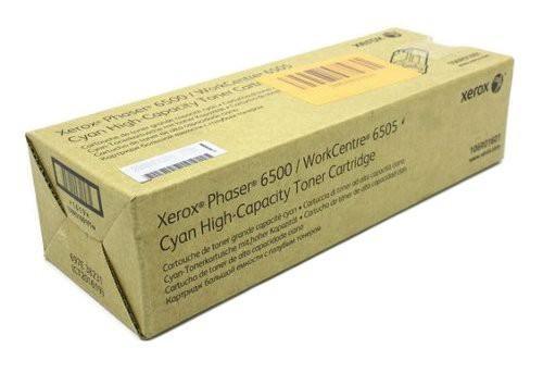 Тонер-картридж Xerox 106R01601 cyan (2500 стр.) для Phaser 6500/WC 6505