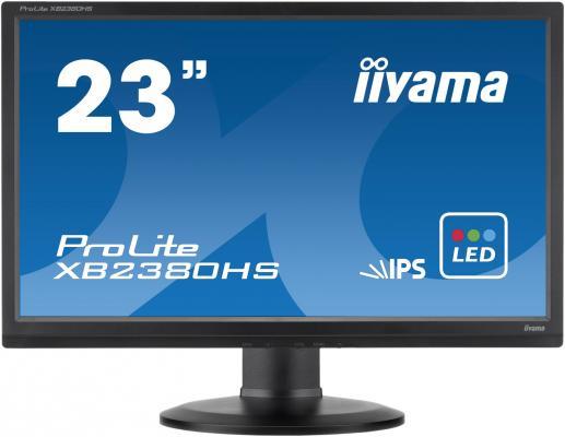 Монитор 23 iiYama Pro Lite XB2380HS-B1 монитор 24 iiyama pro lite xb2483hsu b2