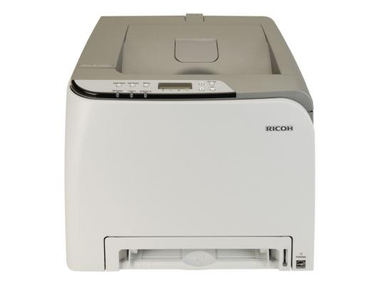 Лазерный принтер Ricoh Aficio SP C240DN + инстр (А4, 16 стр./мин, дуплекс, сеть, GDI ) + стартовые картриджи 1К