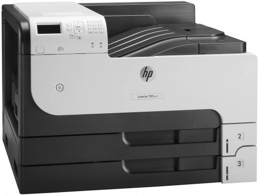 Принтер лазерный HP LaserJet Enterprise 700 M712dn A3 (CF236A) принтер лазерный hp laserjet enterprise 700 printer m712xh