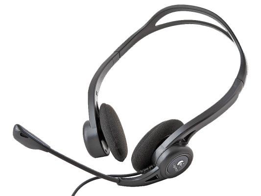 Проводная гарнитура Logitech Headset 960 USB (981-000100)