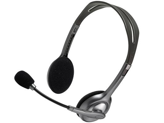Гарнитура Logitech Headset H110 (981-000271) гарнитура logitech stereo headset h110 981 000271