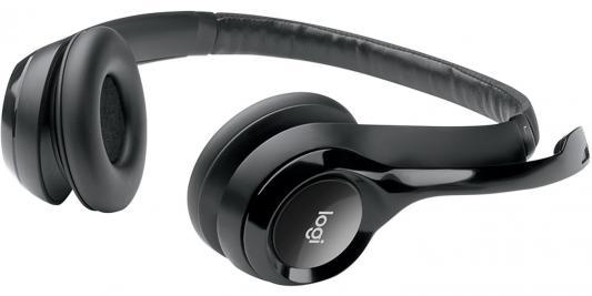 Гарнитура Logitech Headset H390 USB (981-000406) наушники с микрофоном logitech headset h390 usb