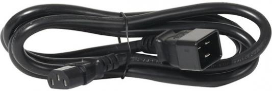 APC Power Cord [IEC 320 C13 to IEC 320 C20] - 10 AMP/230V 2.0 Meter (AP9879) кабель сетевой apc power cord kit 6 ps locking iec 320 c13 to iec 320 c14 10a 208 230v 1 2 m ap8704s ww ap8704s ww