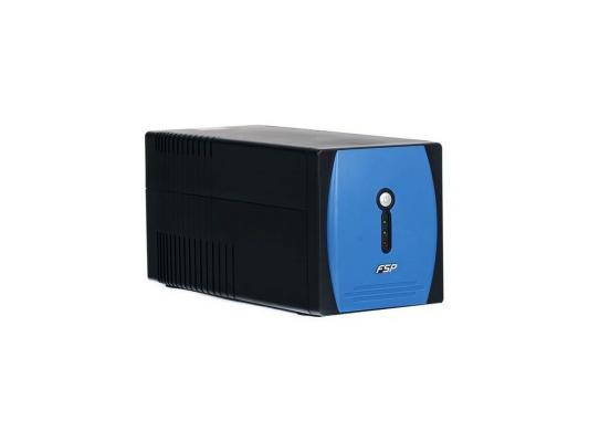 Источник бесперебойного питания FSP EP2000 2000VA/1200W LCD Display,EC-3,Schuko-3,RS232,RJ11,USB