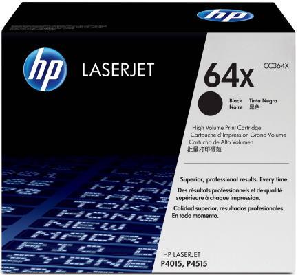 Тонер-картридж HP CC364X (для P4015/P4515) картридж sakura cc364x black для hp laserjet p4015 4015n 4015tn p4515 4515n 4515tn 4515x 4515fx