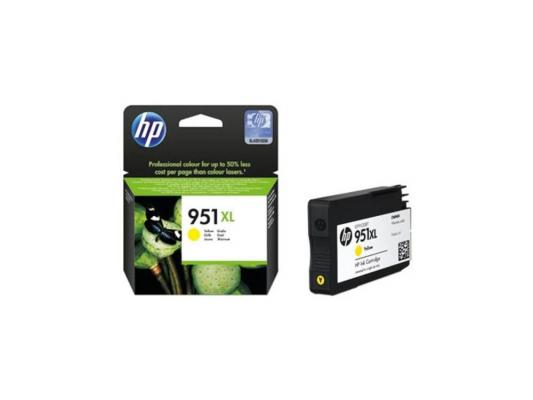 Картридж HP CN048AE (№951XL) для принтеров HP Officejet Pro 8100/ 8600, желтый, 16 мл gzlspart for hp officejet pro 8600 hp8600 original used formatter board wifi card cm749 80001 printer parts on sale