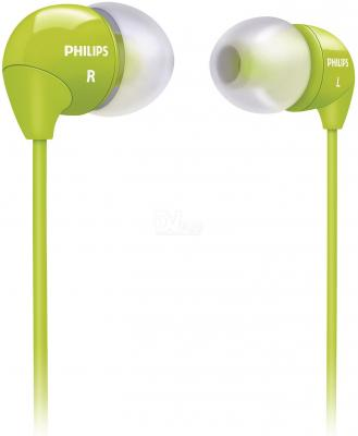 все цены на Наушники Philips/ внутриканальные 12-23500Гц 1.2м 3.5мм 102дБ зеленый (SHE3590GN/10) онлайн