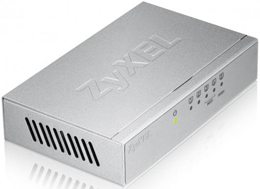 Коммутатор Zyxel GS105B коммутатор zyxel gs1200 8hp gs1200 8hp eu0101f