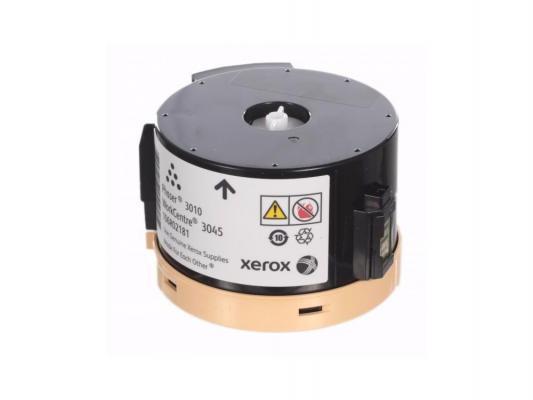 Тонер-картридж Xerox 106R02181 black (1000 стр.) для Phaser 3010/WC 3045B картридж xerox 106r02181 черный