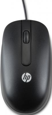 все цены на Мышь проводная HP QY777AA чёрный USB