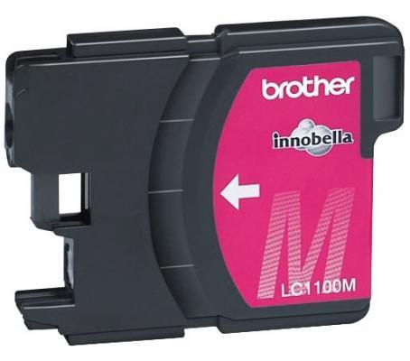 Картридж струйный Brother LC1100M картридж струйный brother lc663bk