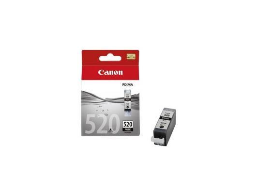 Картридж Canon PGI-520 BK черный чернильный картридж canon pgi 1400xl bk