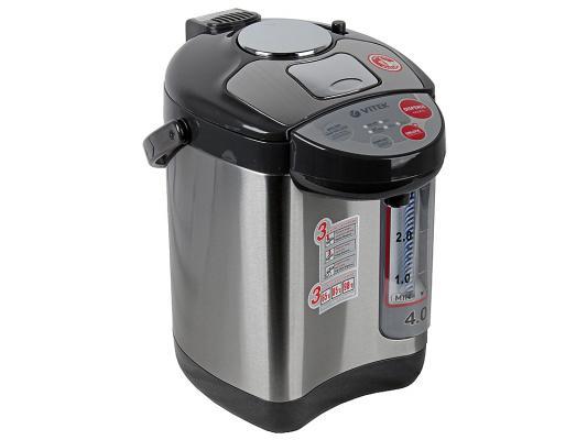 Купить со скидкой Термопот Vitek VT-1188 GY 750 Вт чёрный серый 3.8 л пластик