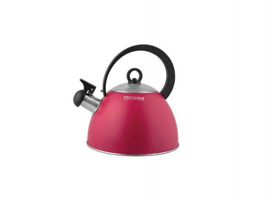 Чайник Rondell Geste 361RDS красный 2 л нержавеющая сталь