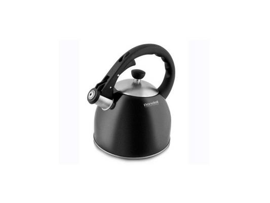 363RDS Чайник Rondell Durst  (2л,нерж.сталь.свисток) RDS-363