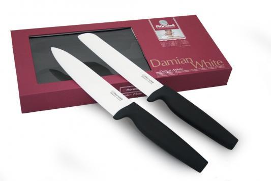 463RD Набор ножей керамика Rondell 2шт. Damian White RD-463 464rd набор ножей rondell керамика 2шт damian black rd 464