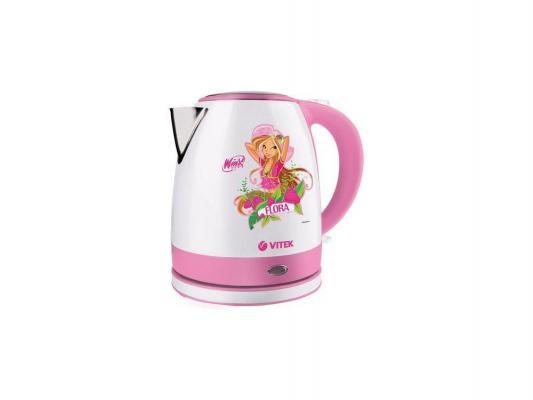 1001 Чайник Winx FL Flora(2200Вт.1.2л,диск.пласт.)