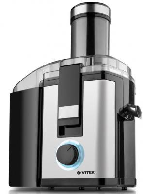 Соковыжималка Vitek VT-1631 ST 900 Вт пластик серебристый чёрный