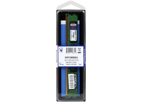 Оперативная память DIMM DDR3 Kingston 4Gb (pc-10600) 1333MHz (KVR13N9S8/4)