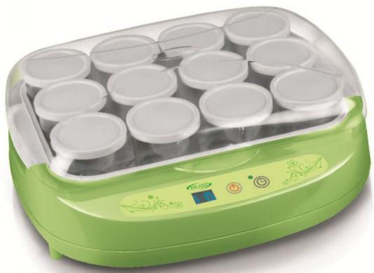 Йогуртница Brand 4002 (цифр.управл. 12*200мл) зеленая
