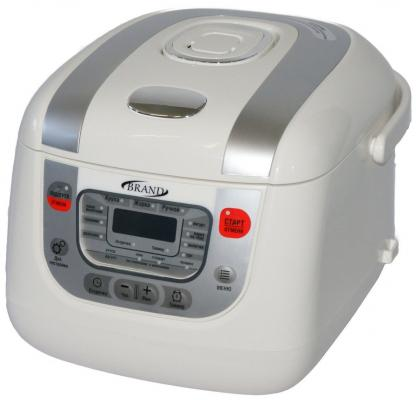 Мультиварка Brand 502 белый 850 Вт 5 л мультиварка brand 6051 1000 вт 5 л белый