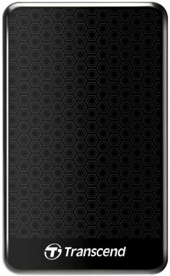 Внешний жесткий диск Transcend 1Tb TS1TSJ25A3K Black <2.5, USB3.0> внешний жесткий диск transcend ts1tsj25d3 1tb usb