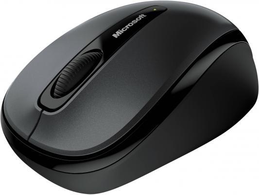 Мышь Microsoft Wireless Mobile Mouse3500 Loch Ness Grey. USB оптическая/беспроводная (GMF-00289)