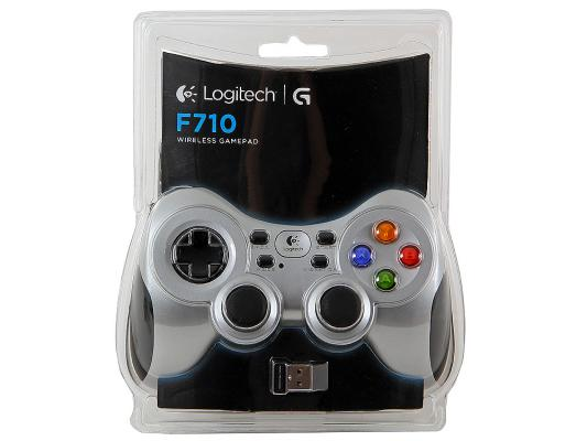 все цены на Геймпад Logitech Gamepad Wireless F710 (G-package) (940-000145)