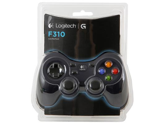 Геймпад Logitech Gamepad F310 USB (G-package) (940-000135)
