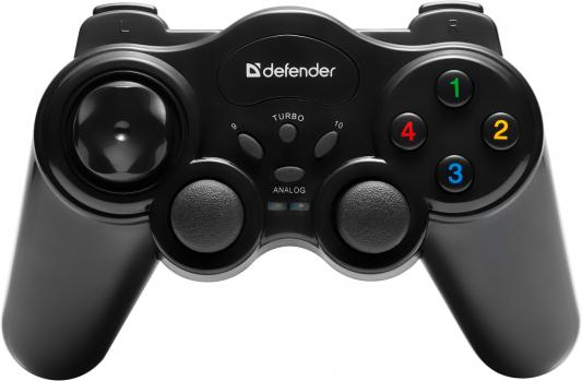 Геймпад Defender Game Master Wireless 64257 микрофон беспроводной defender mic 140