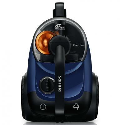 Пылесос Philips FC8761/01 без мешка для сбора пыли, PowerCyclone, 2000 Вт / 360 Вт, Цвет синий