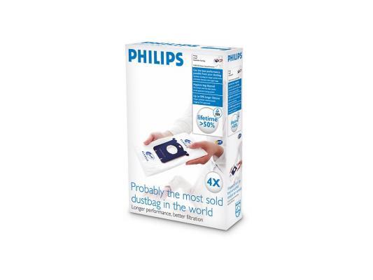 Пылесборник Philips FC8021/03 Мешок для сбора пыли S-bag Classic набор пылесборников philips fc 8021 03