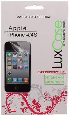 Защитная плёнка суперпрозрачная Lux Case - для iPhone 4S iPhone 4