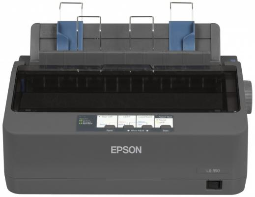 Принтер матричный Epson LX-350 (C11CC24031) принтер epson lx 350 матричный цвет черный [c11cc24031 ]