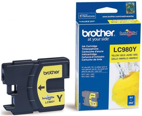 Картридж струйный Brother LC980Y my own dear brother