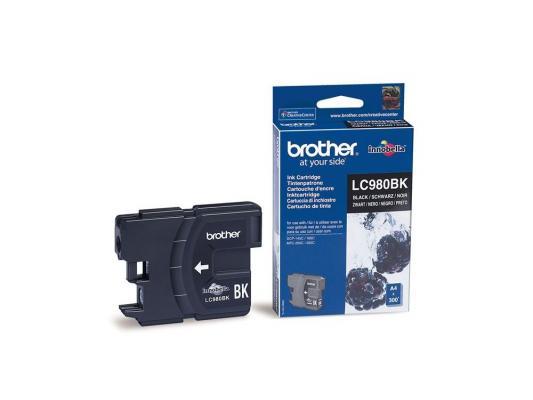 Картридж струйный Brother LC980BK brother lc980bk