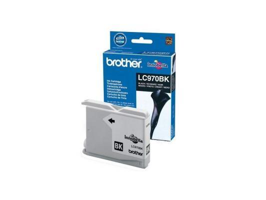 Картридж струйный Brother LC970BK brother lc970bk