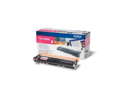 Лазерный картридж Brother TN-230M пурпурный для HL3040 DCP9010CN MFC9120CN лазерный картридж brother tn 230c голубой для hl3040 dcp9010cn mfc9120cn