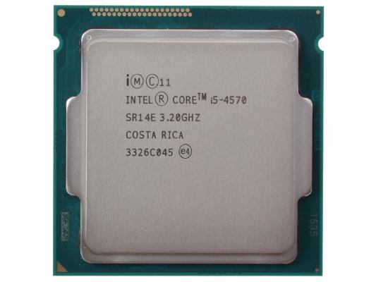 Процессор Intel Core i5-4570 Oem <3.20GHz, 6Mb, LGA1150 (Haswell)> процессор intel core i7 4771 haswell 3 5ghz 8mb lga1150 box bx80646i74771 sr1bw