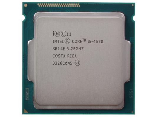 Процессор Intel Core i5-4570 Oem <3.20GHz, 6Mb, LGA1150 (Haswell)> intel intel core i5 4590s haswell 3000 4