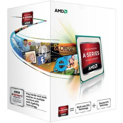 Процессор AMD A4 4000 Box <SocketFM2> (AD4000OKHLBox)