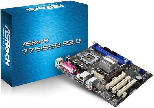Материнская плата ASRock 775I65G R3.0 <S775, i865G, 2*DDR, AGP, SVGA, SATA II, LPT, Lan, ATX, Retail>