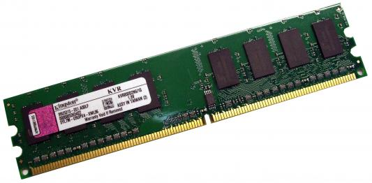 Оперативная память DIMM DDR2 1024Mb (pc-6400) 800MHz Kingston <Retail> (KVR800D2N6/1G)