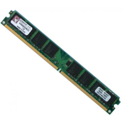 Оперативная память DIMM DDR2 2Gb (pc-6400) 800MHz Kingston <Retail> (KVR800D2N6/2G)