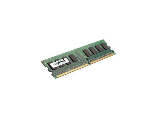 Оперативная память DIMM DDR2 Crucial 1Gb (pc2-5300) 667MHz (CT12864AA667)